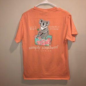 Simply Southern koala bear sorority shirt
